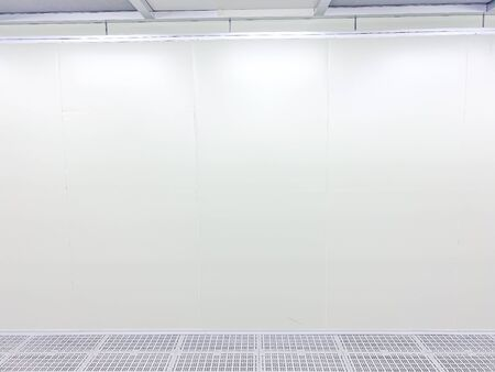 Inside Clean room class 1000 at factory, empty room