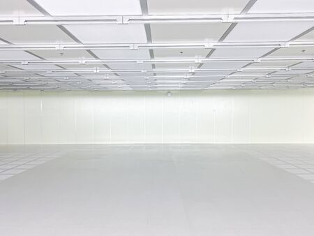 Inside Clean room class 1000 at factory,empty room