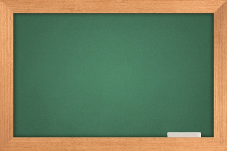 chalk board: green blackboard  Stock Photo