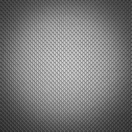 Silver surface. Small circles, each smaller sequence, background Stock Photo - 9868289