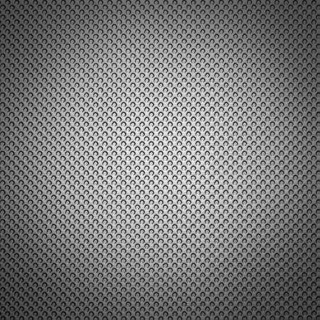smaller: Silver surface. Small circles, each smaller sequence, background