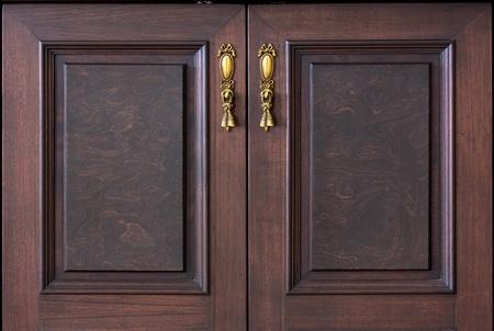 lit collection: vintage wooden doors  Stock Photo
