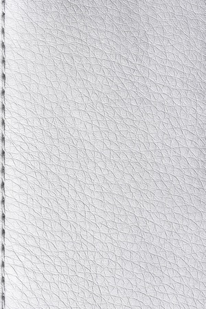 leathery: texture white leather bag