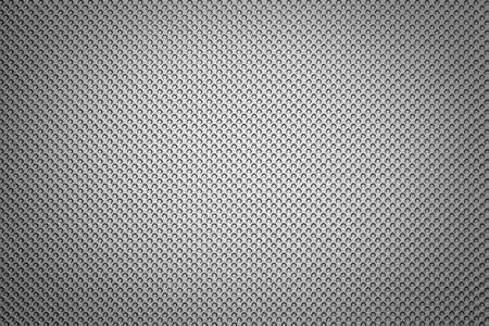 hard cover: Silver surface. Small circles, each smaller sequence.  Stock Photo