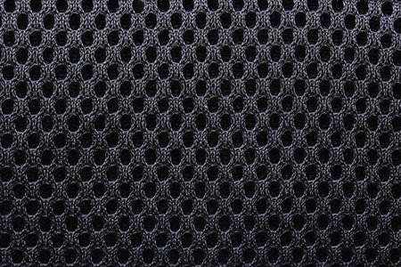 Components of a textile black bag textures  photo