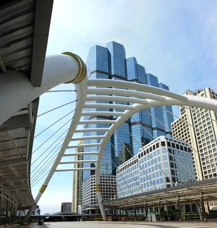 Modern buildings in Sathorn in Bangkok, Thailand. Stock Photo - 10321625