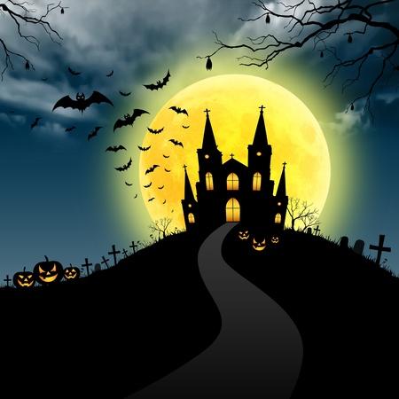 cementerios: Halloween arte