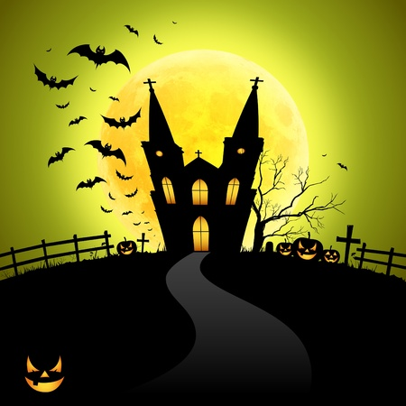 Halloween house Stock Photo - 10813990
