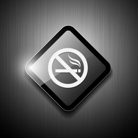 No smoking sign modern design  vector illustration Vector