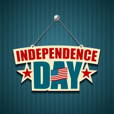 Independence day American signs  Stock Vector - 15274204
