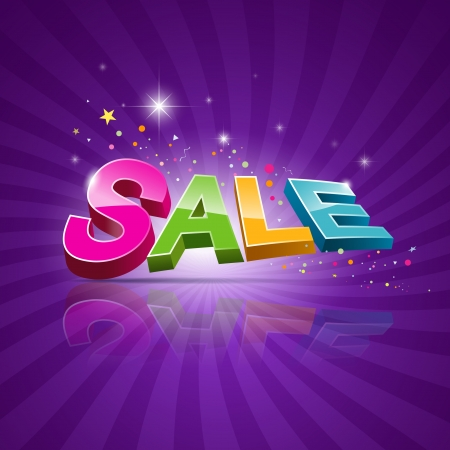 summer sale: Sale message promotional products