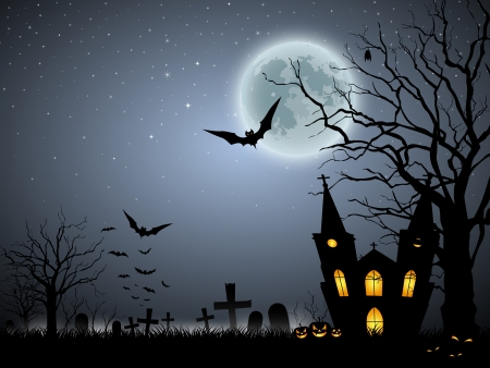 formidable: Halloween scary background