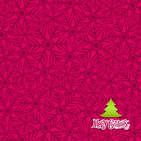 Snow flakes texture pink background Stock Vector - 15966291