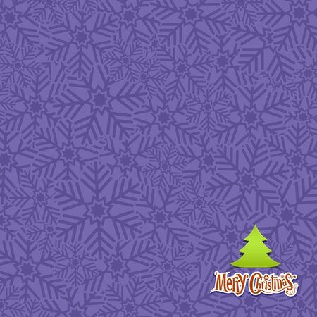 Snow flakes texture design violet background Stock Vector - 15966293