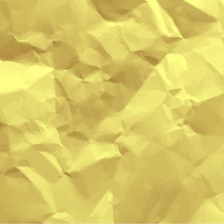 Paper recycle crumpled background, Vector Vector