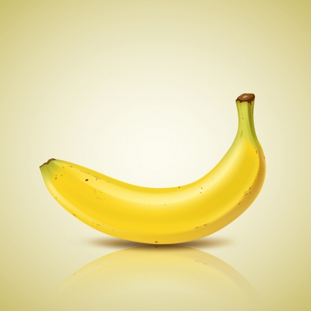 Banana design Vector