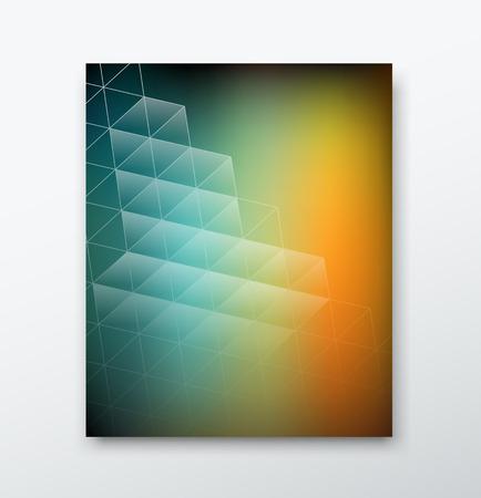 smooth background: Rapporto di copertura Magazine edificio astratto liscio