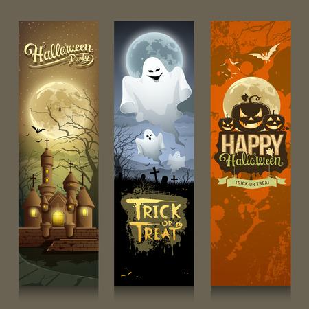 boom halloween: Happy Halloween dag collecties banner