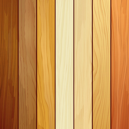 Wood collections realistic texture design background Vector