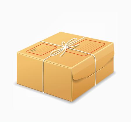 brown box: Cassette dei pacchi, scatola marrone disegno di sfondo