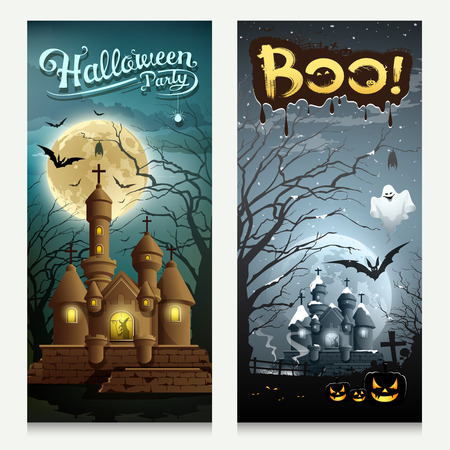 houses: Happy Halloween houses collections banner