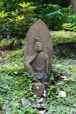 Stone Buddhas 写真素材