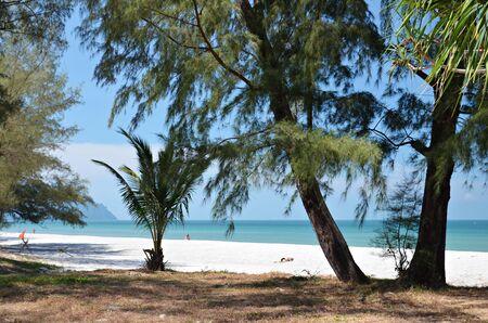 lonely beach on ko tarutao island in thailand Stock Photo - 28289715
