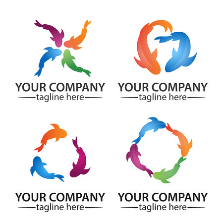 icon carp. logo vectore