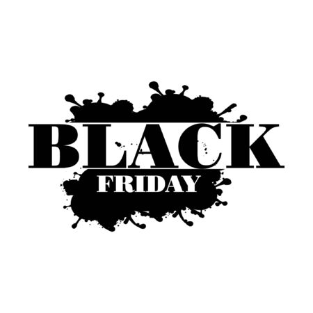 Black friday sale for your Seasonal Flyers, banner, sticker, and Greetings Foto de archivo - 138040457