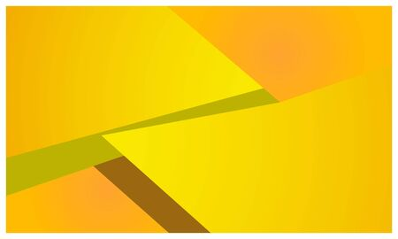 Yellow geometry background