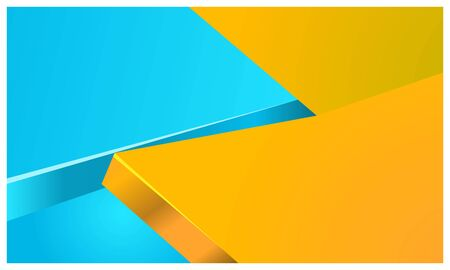 Colorful geometry background Ilustracja