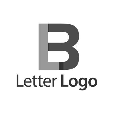 LB Initial stock logo template