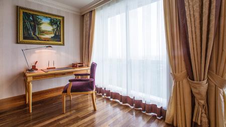 Interior design. the Classic living room interior photo