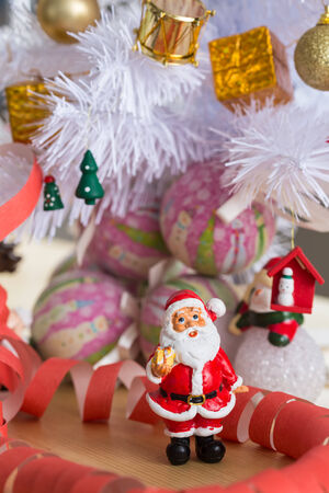 Christmas and New Year decoration. Selective focus. Creative background photo