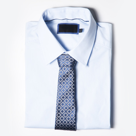outer clothing: Set of trendy Men clothing is on white background. Shirt and tie