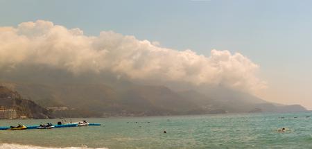 Montenegro, Budva, June 24, 2014:  Summer day. Adriatic Coast