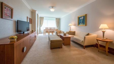 Innenarchitektur. das Wohnzimmer Innenraum klassisch Standard-Bild - 38812394