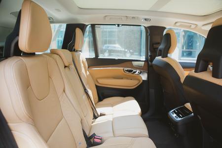 Modern car interior. shallow DOF. selective focus. color toned image