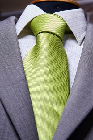 ビジネス スーツのクローズ アップ。スーツのテクスチャをクローズ アップ 写真素材
