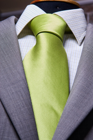 Business-Anzug Nahaufnahme. Anzug Textur Close Up