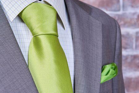 office attire: business suit closeup. Suit Texture Close Up