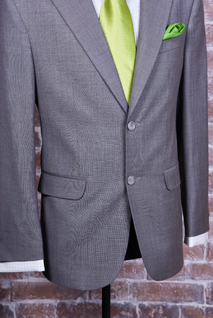 shirt and tie: Elegant business suit with a shirt and a tie Stock Photo