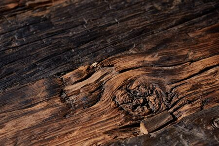 duckboards: Old natural wooden shabby background close up