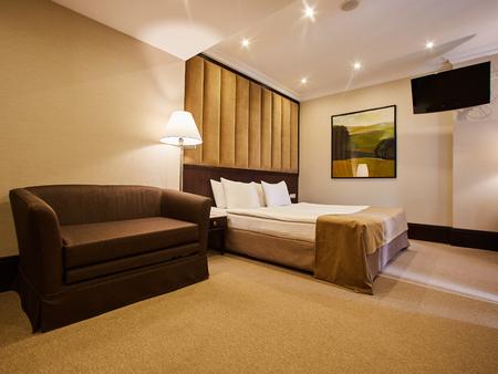 Belle Décoration De Chambre à Coucher Design D\'intérieur à L\'hôtel ...