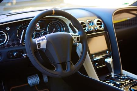sumptuous: Luxury car Interior