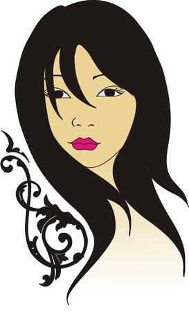 donna: bella ragazza