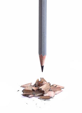 sharpening: Simple grey pen sharpening