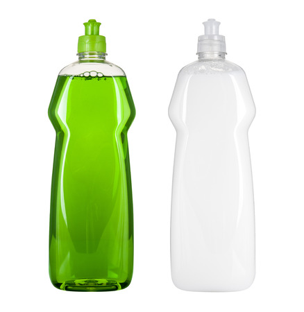 空白の料理洗濯液体パッケージ