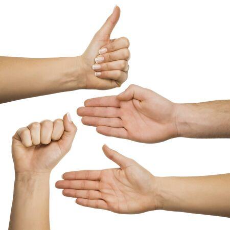 gestures: Hand gestures set
