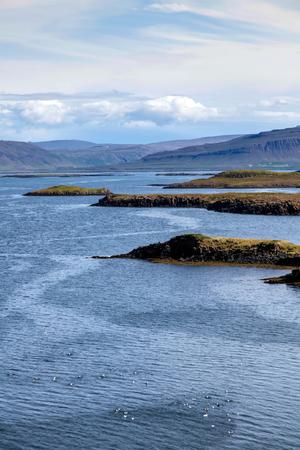 island�s: Icelandic seascape archipelago Foto de archivo